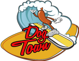 dog town logo_red